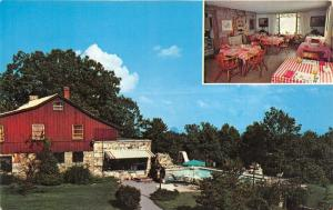 Lookout Mountain-Rock City Tennessee~Fairyland Courts Motel & Restaurant~1960s