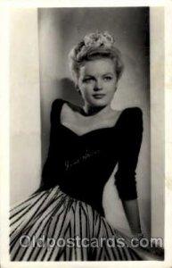 June Haver Actress/ Actor June Haver Unused