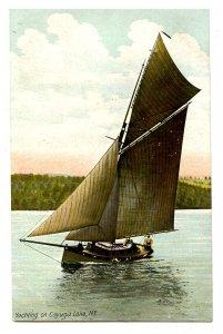 NY - Cayuga Lake. Yachting