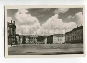 271179 GERMANY BERLIN University 1940 year photo RPPC