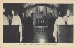 BERRYVILLE, Virginia, 1910-30s ; The Salve , Trappist Monks