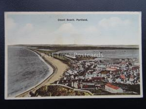Dorset WEYMOUTH Portland CHESIL BEACH - Old Postcard by E.T.W. Dennis & Son