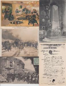 GUERRE WAR 1870 FRANCE 500 Cartes Postales