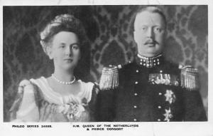 Royalty H.M. Queen Wilhelmina, Prince Consort Hendrik Henry of Netherlands