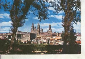 Postal 014676: Vista parcial de Santiago de Compostela