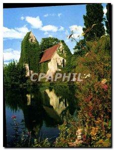 Postcard Modern Normandy The Church of Criqueboeuf