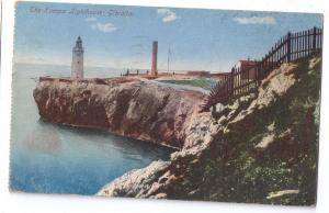Gibraltar Europe Lighthouse 1922