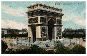 France  Paris,   L'Arc de Triomphe