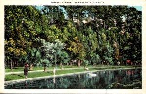 Florida Jacksonville Scene In Riverside Park