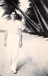 Agana Beach 1938 Guam Unused