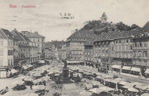 GRAZ, Austria, 1900-1910's; Hauptplatz