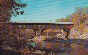 Covered Bridge Typical Vermont Covered Bridge Vermont