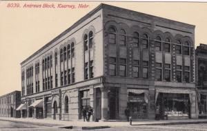 KEARNEY , Nebraska , 1900-10s ; Andrews Block