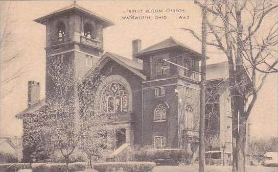 Ohio Wadworth Trinity Reform Church