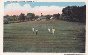 Golf Course - Clifton Springs NY, New York - WB
