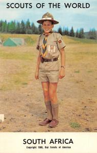 Scouts of the World: South Africa (1968 Boys Scouts of America) Uniform