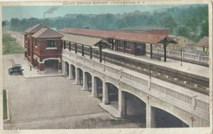 EAST ORANGE , Massachusetts , 00-10s ; Lackawanna Railroad Train Station