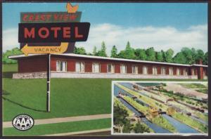 Crestview Motel,Sault Ste Marie,MI BIN