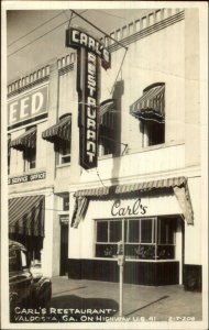 Valdosta GA Carl's Restaurant Cline? Real Photo Postcard