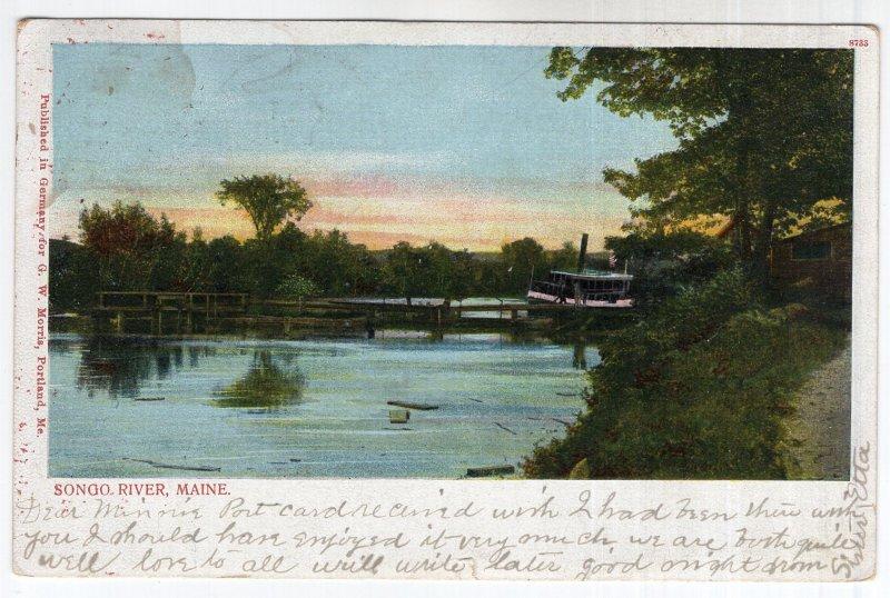 Songo River, Maine