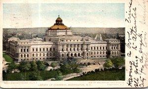 Washington D C Library Of Congress 1908