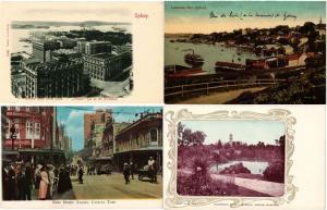 AUSTRALIA AUSTRALIE 62 CPA Vintage Postcards 1900-1940 period
