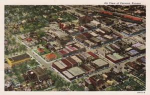 Kansas Parsons Aerial View 1969