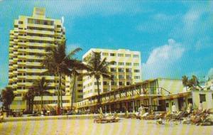 Florida Miami Beach Cabana Life On The Golden Sands