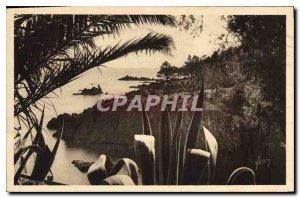Old Postcard Riviera Trayas Var Rocks