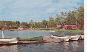 Boats, Elk Island National Park, Edmonton, Alberta, Canada, 1940-1960s