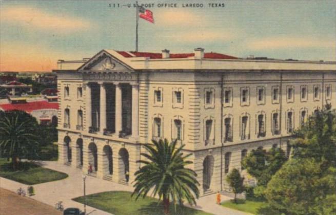 Texas Laredo Post Office 1946