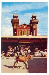 Iron Market, Port-au-Prince, Haiti, W. I., 50-60s Donkey