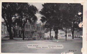 New York Main Mount Morris High School and Grammar School Dexter Press