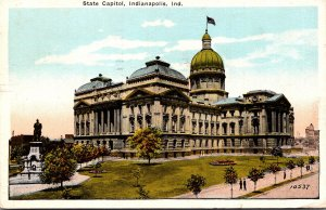 Indiana Indianapolis State Capitol Building 1925