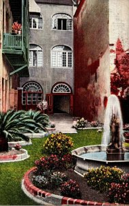 Louisiana New Orleans Courtyard Of The Two Sisters