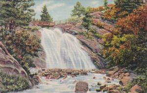 Colorado Colorado Springs Helen Hunt Falls North Cheyenne Canon 1939 Curteich