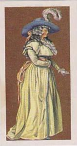 Brooke Bond Vintage Trade Card British Costume 1967 No 27 Lady's Day Dress Ci...