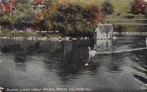 Illinois Rock Island Swan Long View Park 1816