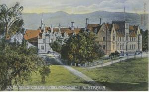 St. Peter's College Adelaide South Australia AU Unused Postcard E4