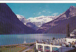Canada Lake Louise and Swimming Pool Alberta