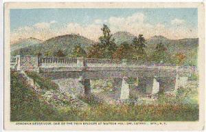 Ashokan Reservoir Watson Hollow Catskill Mtns NY -vintage-