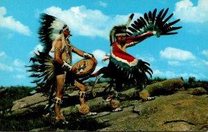 Oklahoma The Eagle dance Oto-Ponc Indian Dancers Of Oklahoma