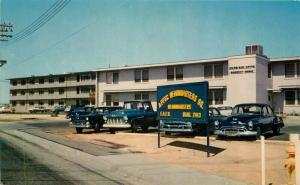 Air Force Flight Training Barracks Headquarters Squadron 1950s Postcard 3472
