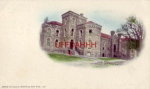 pre-1907 MESS HALL, WEST POINT, NY illustration