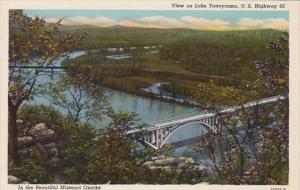 Missouri View On Lake Taneycomo U S Highway 65 Curteich