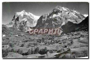 Modern Postcard Grindelwald Wetterhorn Schreckhorn Mettenberg