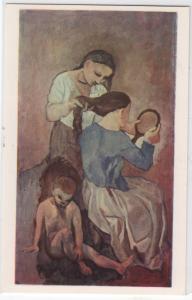 Pablo Picasso Spanish 1881 La Coiffure