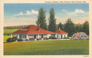 West Liberty Ohio~Ohio Caverns Entrance Buildings~1940s PC
