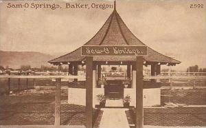 Oregon Baker Sam-O Springs