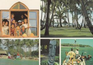 Fiji Yanuca Hotel Fijian Coral Coast Advertising Postcard
